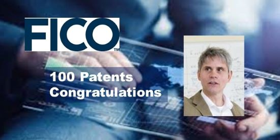 FICO's Dr. Scott Zoldi Reaches a Data Science Milestone with 100th Software Patent Application