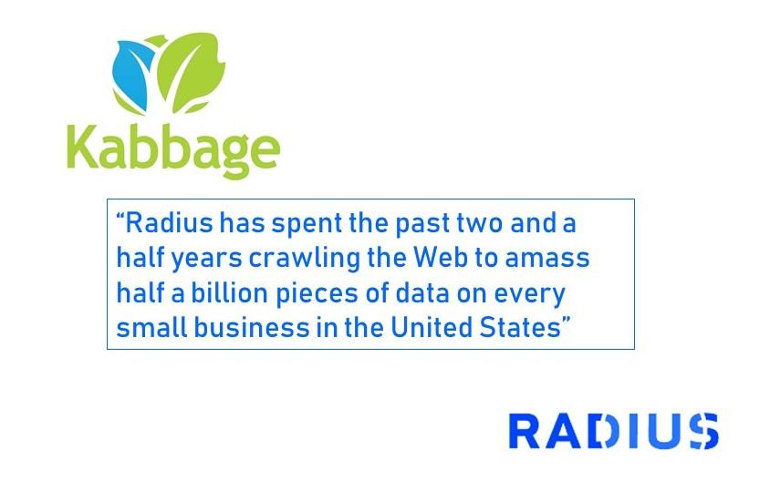 Kabbage Acquires Radius Intelligence