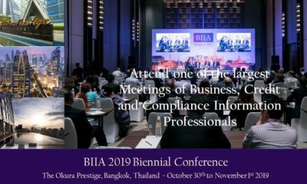 BIIA 2019 Biennial Conference:  October 30th to November 01, 2019, Bangkok, Thailand