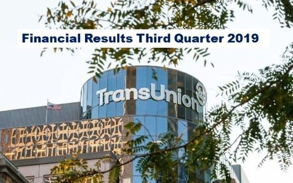 TransUnion Announces Strong Q3 2019 Results, Revenue Up 14%
