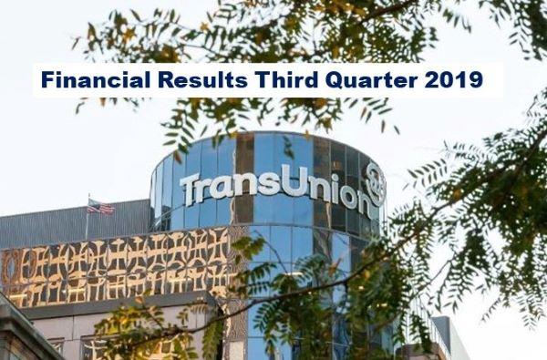 TransUnion Announces Strong Q3 2019 Results, Revenue Up 14%
