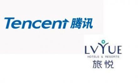 Tencent Makes Strategic Investment in Lvyue Hotel Management System