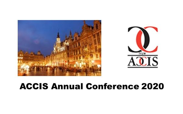 ACCIS Annual Conference 2020 – May 13th, 2020 Bruxelles, Belgium  –  This Event has been Cancelled