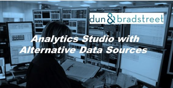 Dun & Bradstreet Powers New Analytics Studio with Alternative Data Sources