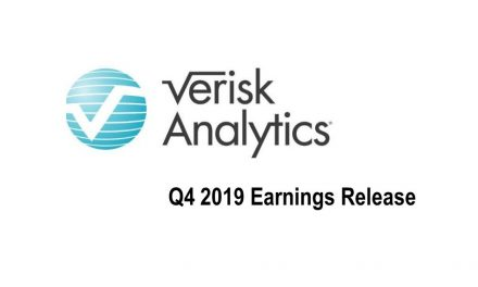 Verisk Q4 2019 Revenues Up 10.2%