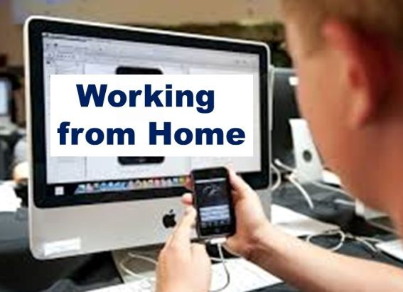 Remote Working Is On Suddenly On Trend