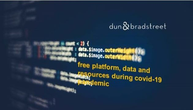 Dun & Bradstreet Delivers Free Platform, Data And Resources To Lift Public And Private Sectors During The COVID-19 Pandemic