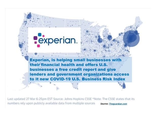 Experian Launches COVID-19 U.S. Business Risk Index