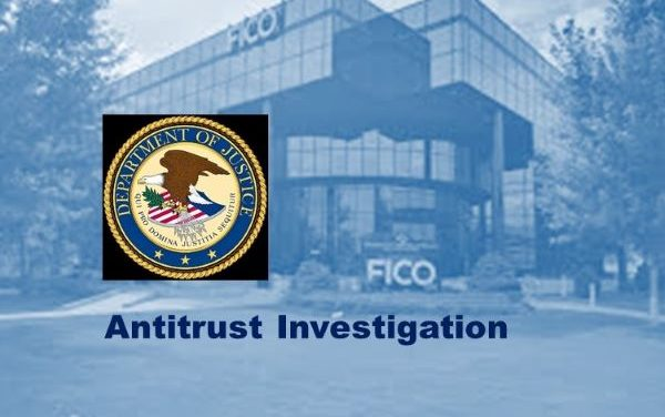 FICO Statement Regarding Antitrust Investigation