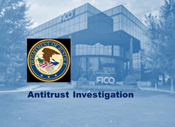 FICO Statement Regarding Antitrust Investigation