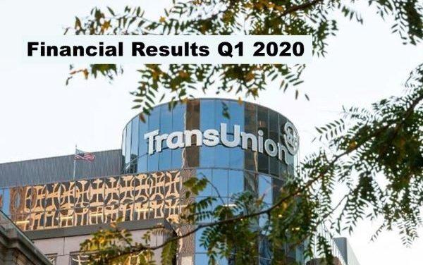 TransUnion Q1 2020 Revenue Up 12%