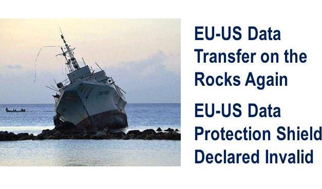 EU-US Data Protection Shield Declared Invalid