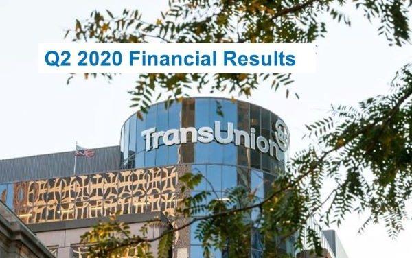 TransUnion Q20 2020 Revenue Declined 3% (Constant Currency Basis)
