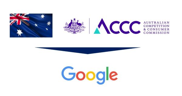 Australian Competition and Consumer Commission (ACCC) Sues Google