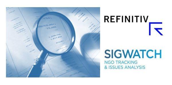 Refinitiv Partners with Sigwatch