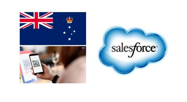 Salesforce to Digitally Revamp Victoria's COVID-19 Contact Tracing System