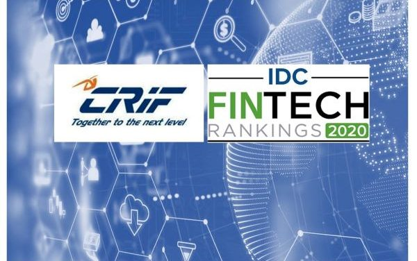 CRIF Named to Prestigious Top 100 IDC Fintech Rankings for the 8th Year