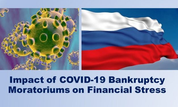 Russian Risk Climate: Financial Distress Signs at the Time of the Bankruptcy Moratorium