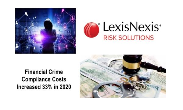 LexisNexis Risk Solutions Study: Financial Crime Compliance Costs Increased 33% in 2020