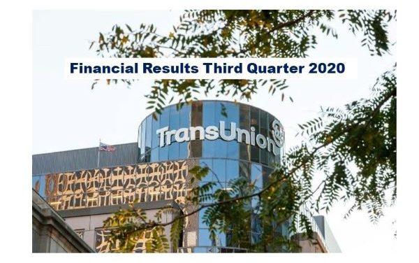 TransUnion Q3 2020 Revenue Up 2% (constant currency basis)