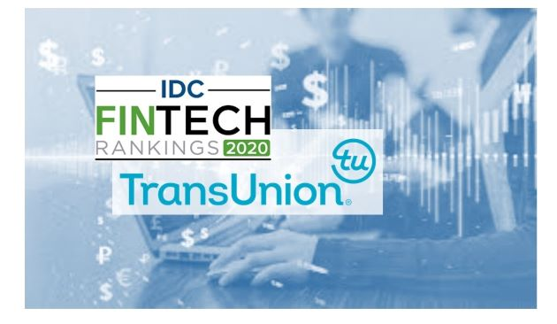 TransUnion Ranks 16th in the Latest IDC FinTech Rankings