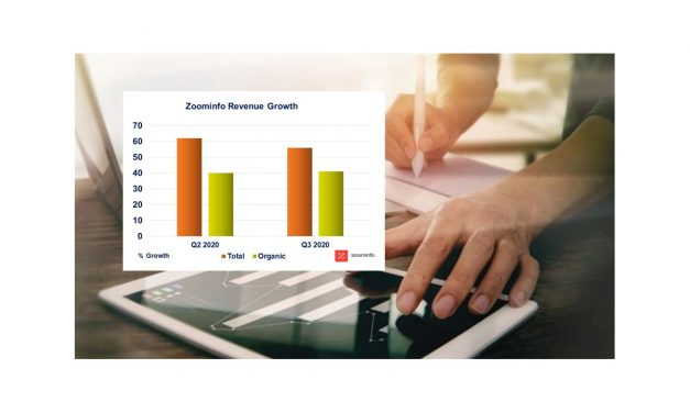 Zoominfo Q3 2020 Revenue Up 56% – Organic Growth 41%