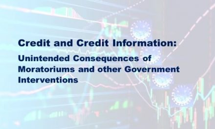 Moratoriums on Insolvencies:  The Great Disrupter of Credit and Credit Information