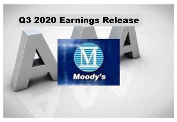 Moody's Q3 Revenue Up 9%