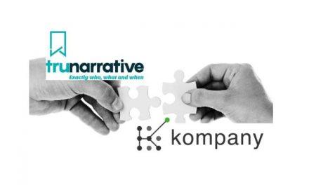 Regtech Platforms Trunarrative and kompany Join Forces