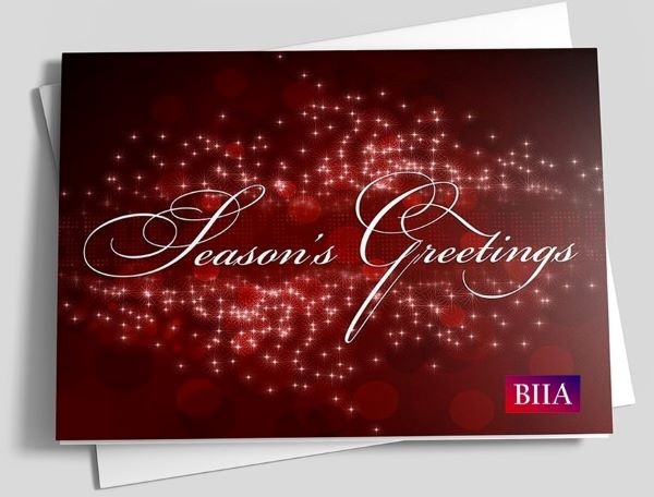 BIIA wishes you a wonderful holiday season and a healthy and successful 2021