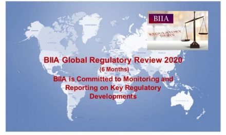 BIIA Regulatory News