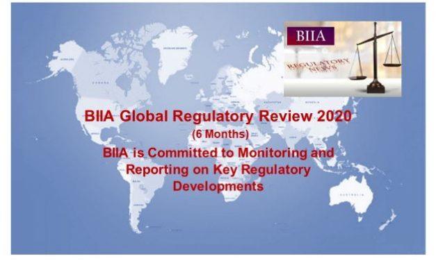 BIIA Regulatory News