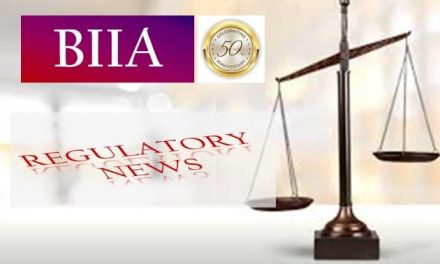 BIIA Regulatory Newsletter February 2021 (50th) Edition