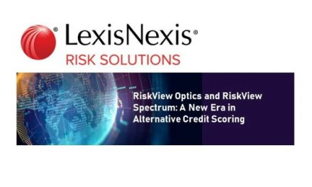 LexisNexis Risk Solutions Launches RiskView Optics and RiskView Spectrum: A New Era in Alternative Credit Scoring
