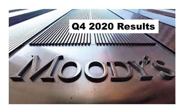 Moody's Corporation 4Q 2020 Up 5%; FY 2020 Up 11%