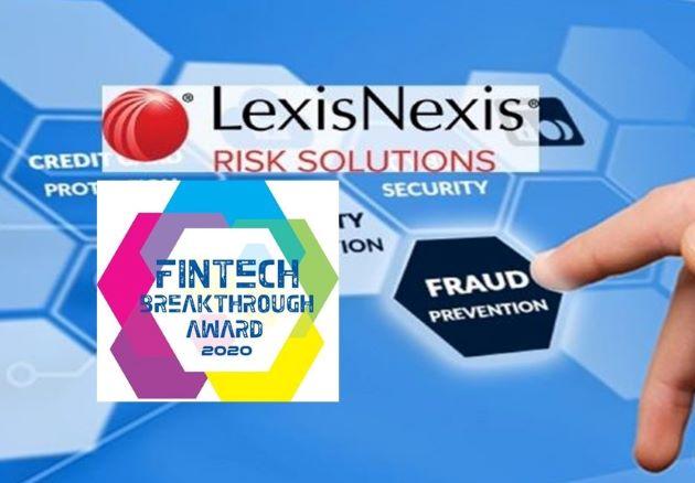 """LexisNexis Risk Solutions Named """"Best Fraud Prevention Company"""" in 2021 FinTech Breakthrough Awards"""