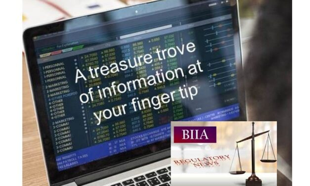 To Access the BIIA Regulatory Newsletter Archive You Need to Log On