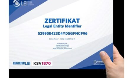 KSV1870 and Register-LEI Ensure More Stability on The Capital Market