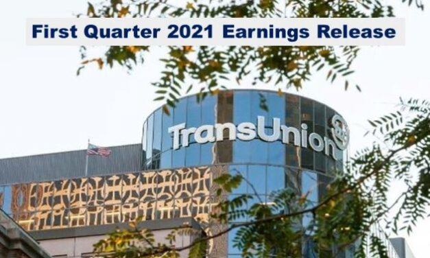TransUnion Q1 2021 Revenue Up 8%