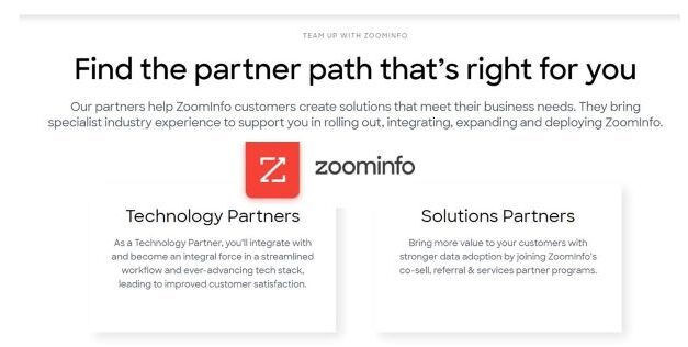 ZoomInfo Establishes New Partner Program Accelerate Companies' Sales and Marketing Strategies