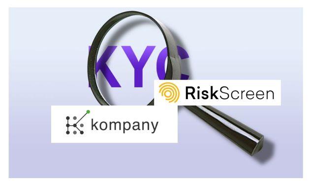 kompany is Partnering with Fellow RegTech Firm RiskScreen