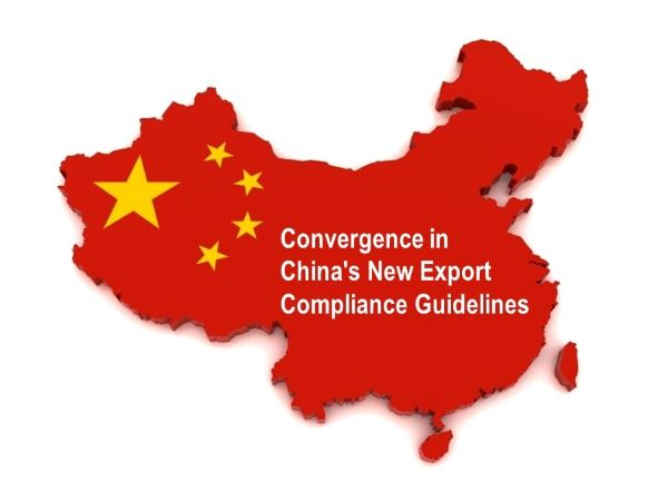 Convergence in China's New Export Compliance Guidelines – Credit Records Required