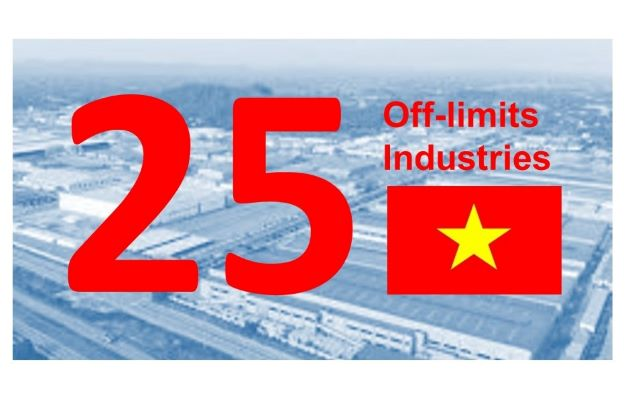 Industries which are Off-limits to Foreign Investors in Vietnam