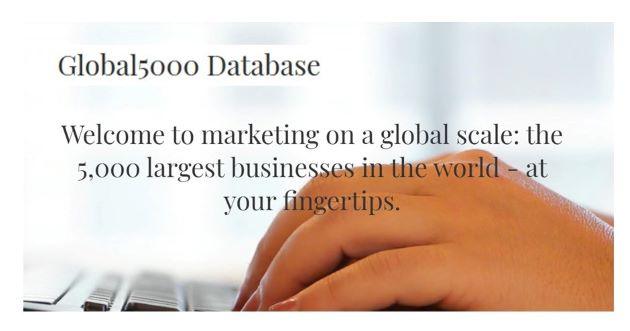 News from the Smallest Database on the 5000 Largest Companies