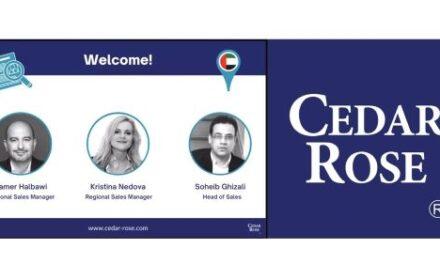 Cedar Rose Ramps Up Operations in Dubai