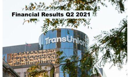 TransUnion Q2 2021 Revenue Up 22%