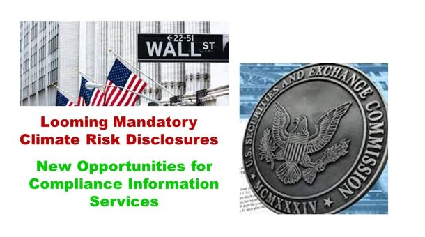 US Security and Exchange Commission (SEC) Considers New Filing Requirements: Climate Risk Disclosures