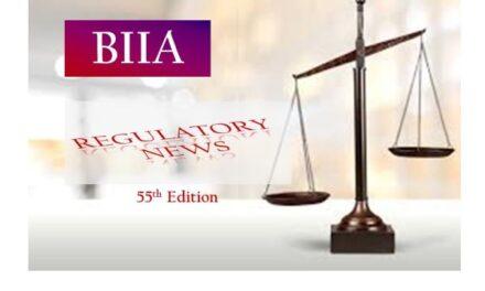 BIIA Regulatory Newsletter July 2021 55th Edition