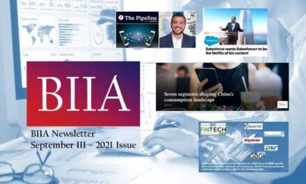 BIIA Newsletter September III – 2021 Issue