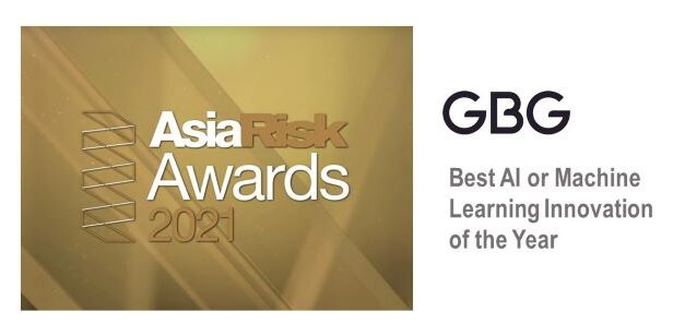 GBG Wins Best AI/Machine Learning Innovation of the Year from Asia Risk Awards 2021